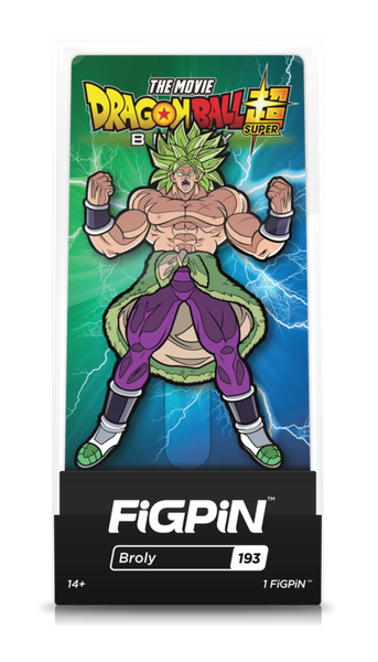 Dragon Ball Super Broly Movie Broly #193  FiGPiN Enamel Pin