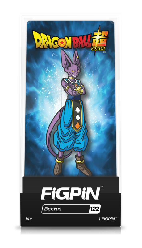 Dragon Ball Super Beerus #122 FiGPiN Enamel Pin - RedGuardian Art & Toys