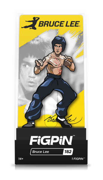 Bruce Lee #182 FiGPiN Enamel Pin -PREORDER LATE JUNE-