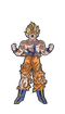Dragon Ball Super Saiyan Goku #29 FiGPiN Enamel Pin - RedGuardian Art & Toys