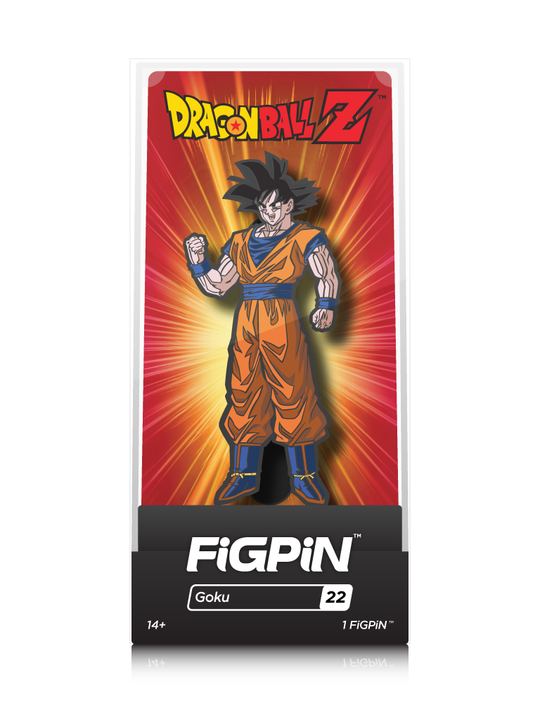 Dragon Ball Goku #22 FiGPiN Enamel Pin - RedGuardian Art & Toys