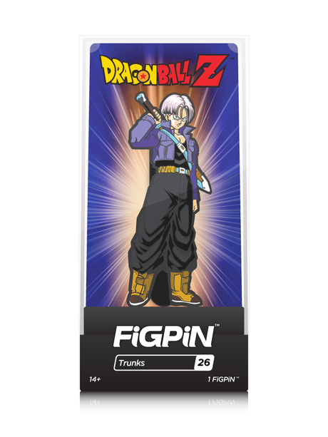 Dragon Ball Trunks #26 FiGPiN Enamel Pin - RedGuardian Art & Toys