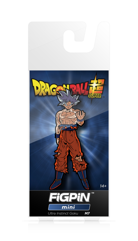 Dragon Ball Super Ultra Instinct Goku #M7 FiGPiN Enamel Pin - RedGuardian Art & Toys