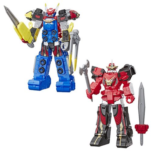 Power Rangers Megazord Action Figures Wave 1 - RedGuardian Art & Toys
