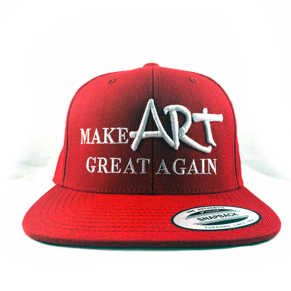 REDxVENICE : Make ART great again! Urban Snapback Hat - RedGuardian Art & Toys