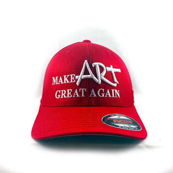 "REDxVENICE : Make ART great again! Baseball ""Dad"" Cap"