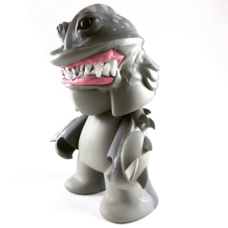Gilbert Gobbletooth: The Humanoid Shark - Monster Beach Party Show - - RedGuardian Art & Toys