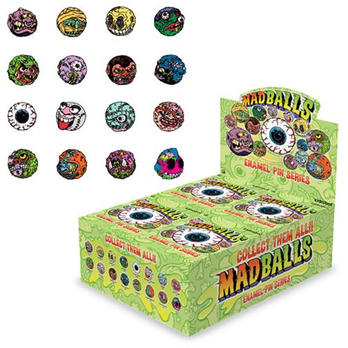Madballs Enamel Pin Series Case