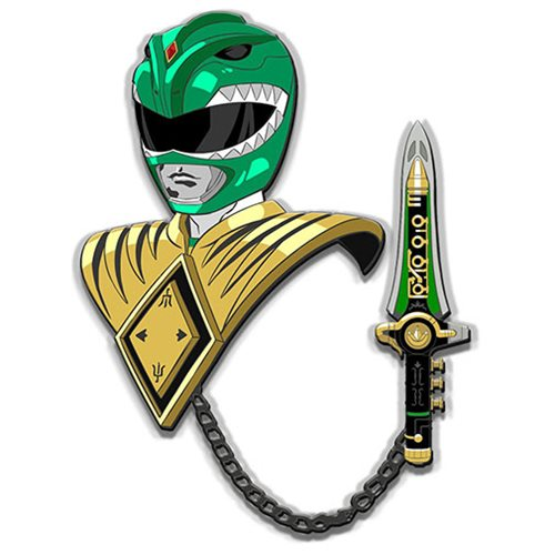 Mighty Morphin Power Rangers Green Ranger Lapel Pin Set - RedGuardian Art & Toys