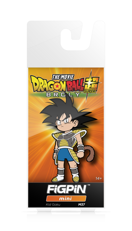 Dragon Ball Super Broly Movie Kid Goku #M37 FiGPiN Enamel Pin - RedGuardian Art & Toys