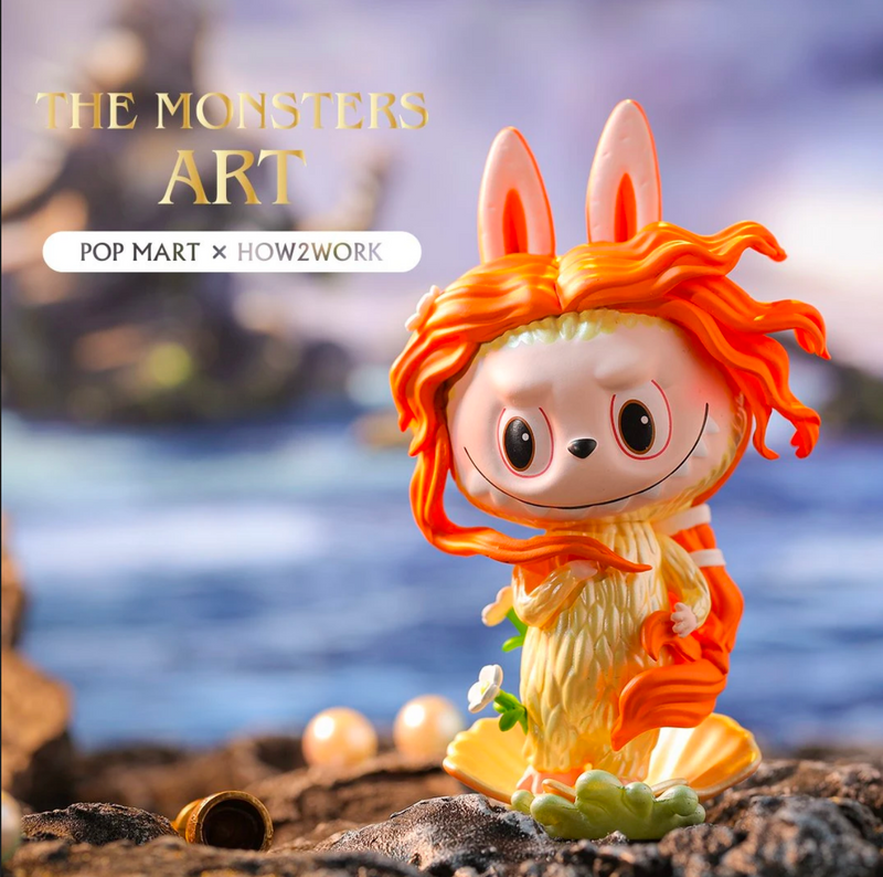 The Monsters Art Labubu Mini Series Blind Box by Kasing Lung x PopMart