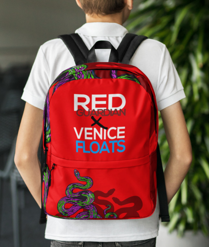 REDxVENICE : Salute to the Serpents Backpack - RedGuardian Art & Toys