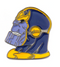 Thanos Head Pin - RedGuardian Art & Toys