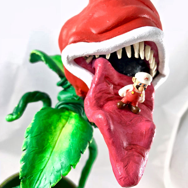 Twisted Mario Piranha Plant - RedGuardian Art & Toys