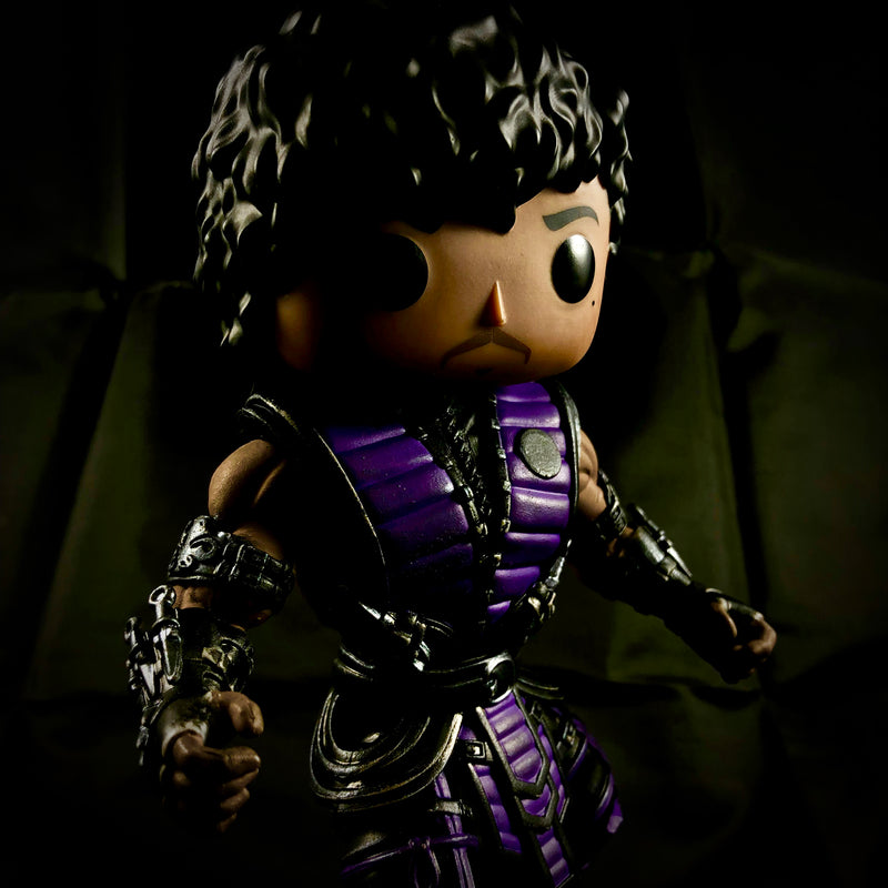 Mortal Kombat's : Purple-Rain Bootleg Action Figure - RedGuardian Art & Toys