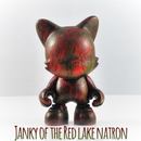 Janky of the Red Lake Natron - Superplastic Custom - RedGuardian Art & Toys