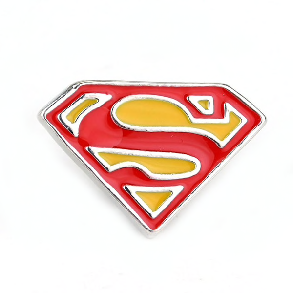 Superman Logo Pin