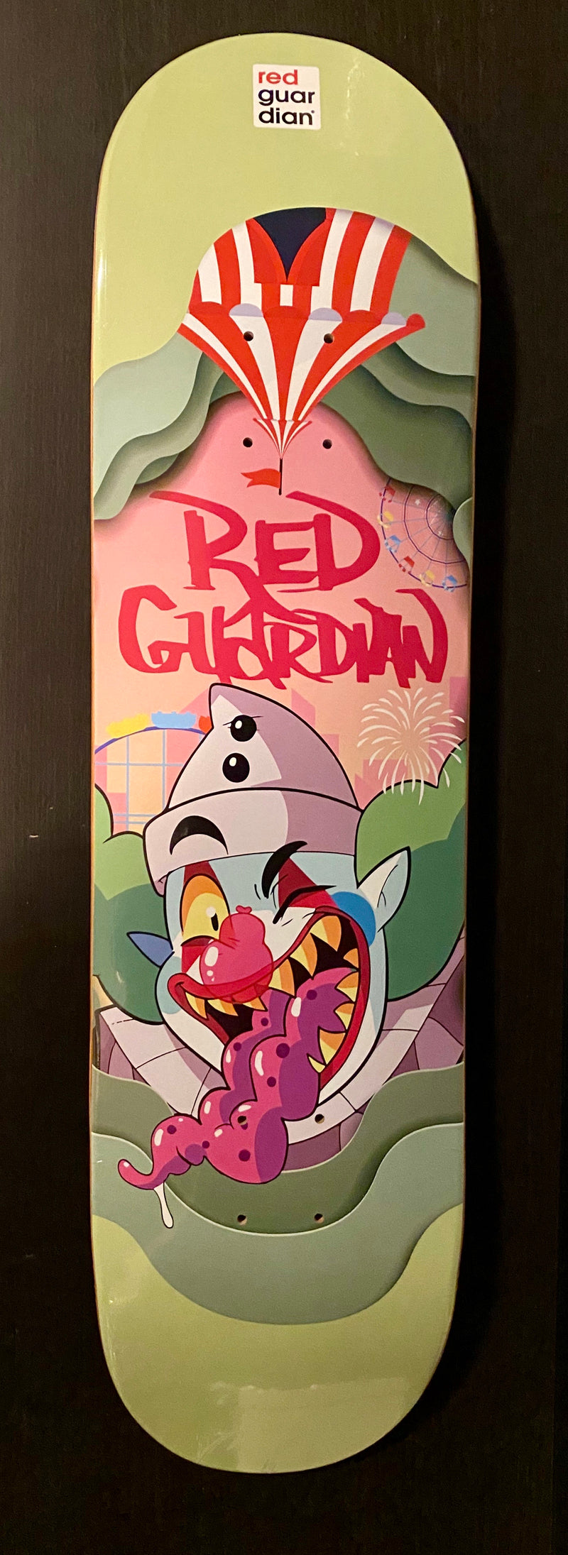 Creative Place Skate Deck - RedGuardian Art & Toys