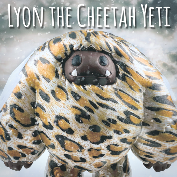 Lyon the Cheetah Yeti : Chomp 1/1 Custom || Raffle