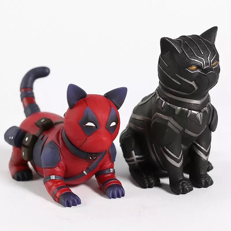 Black Panther Kitty Cat - RedGuardian Art & Toys