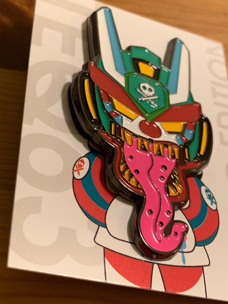 RedGuardian x Quiccs Clown Teq Pin - RedGuardian Art & Toys