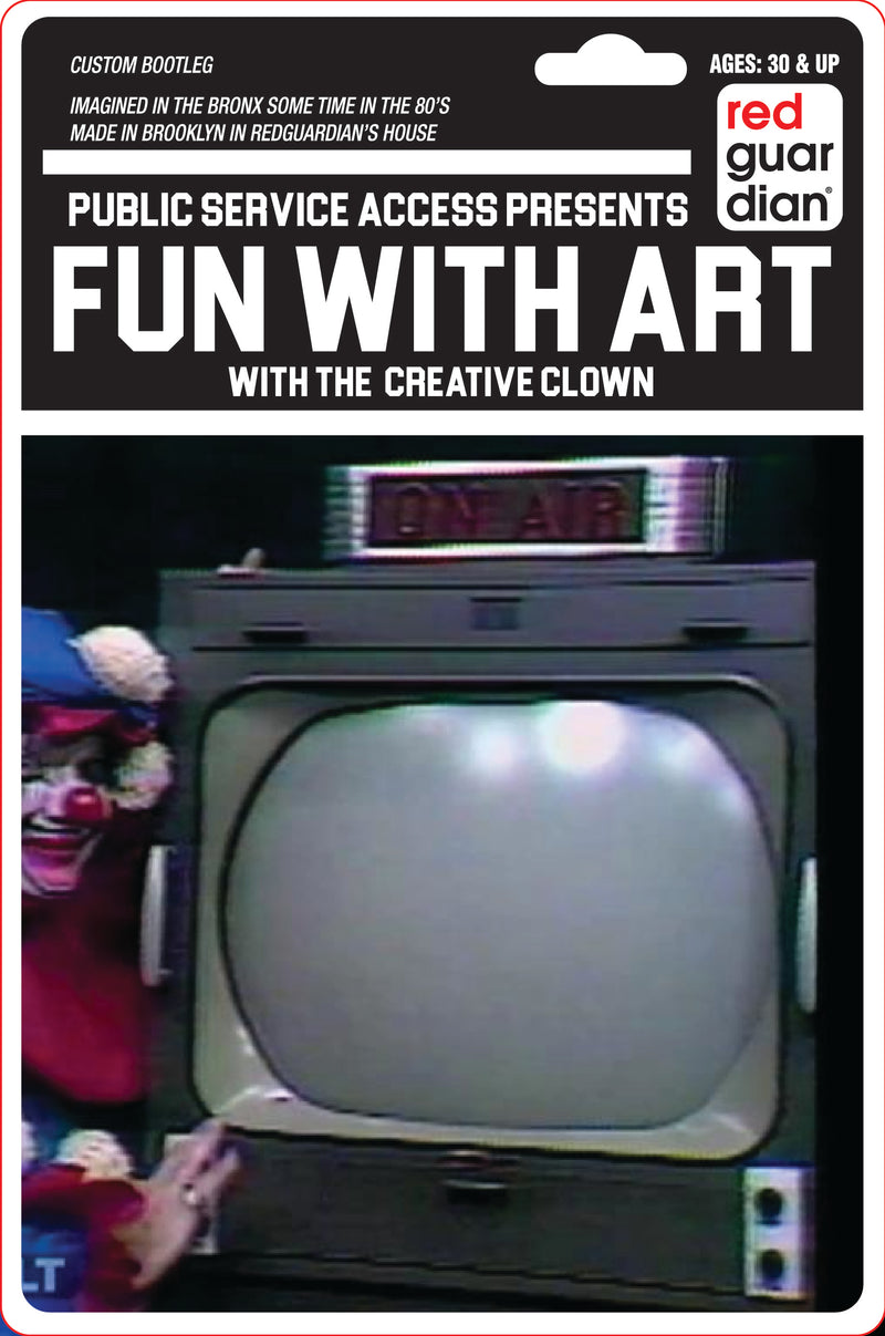 Bootleg Toy : Public Access Channel - Creative Clown - RedGuardian Art & Toys