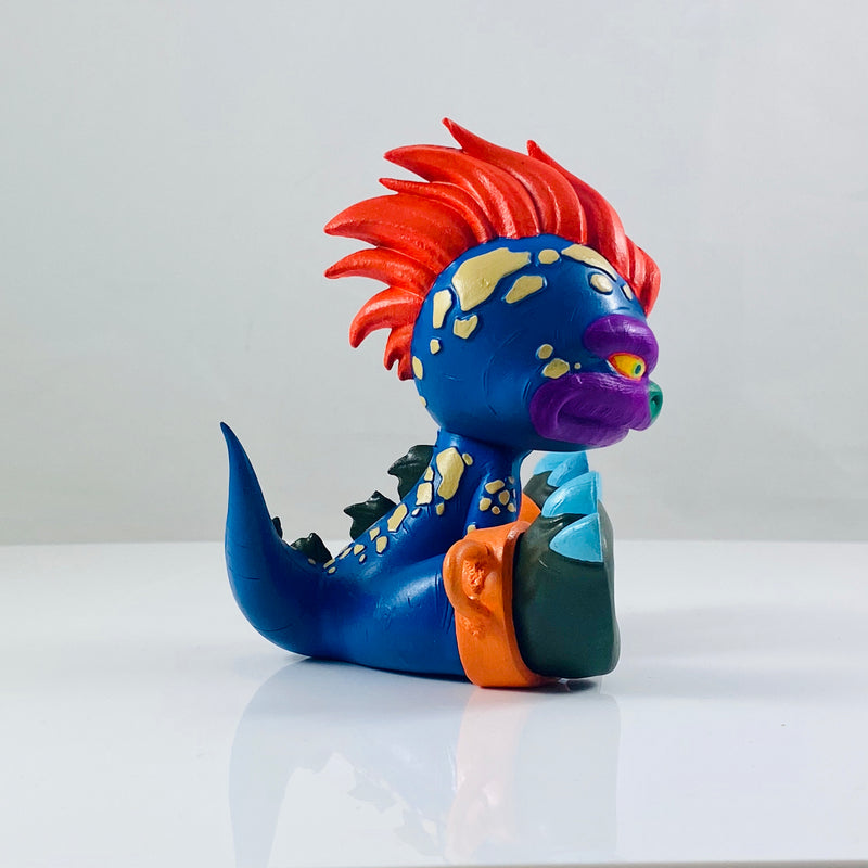Baby Renzo Custom : My Pet Monster - RedGuardian Art & Toys
