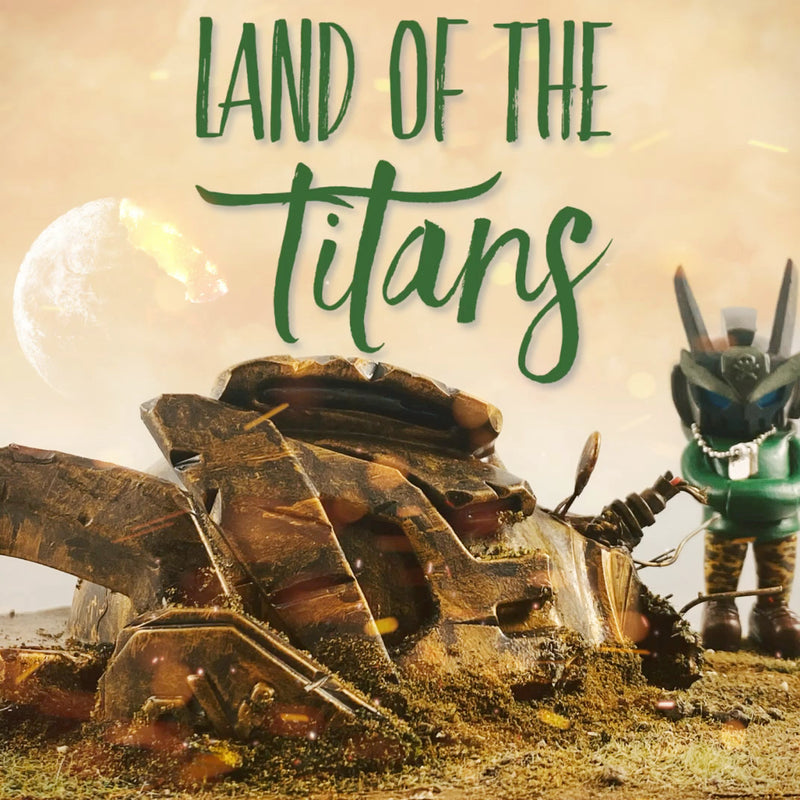 Land of the Titans - Custom Art Piece - RedGuardian Art & Toys