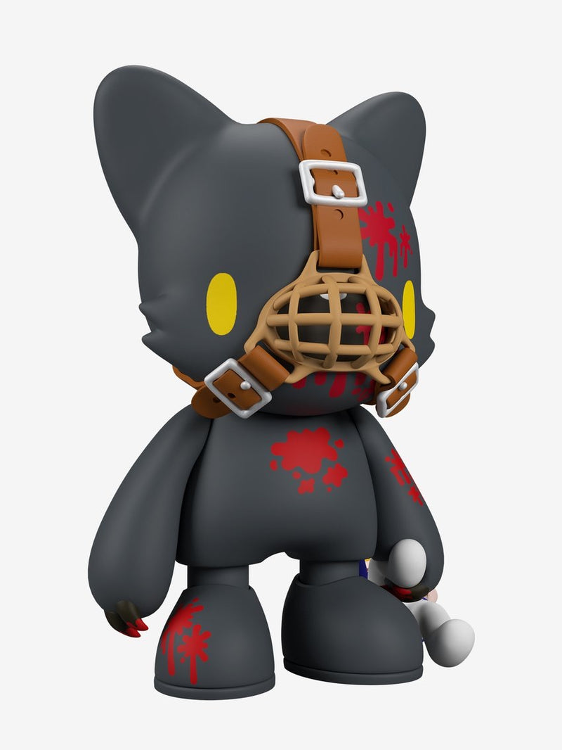 Gloomy in Black SuperJanky by Mori Chack - RedGuardian Art & Toys