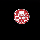 Hydra Red Skull Pin - RedGuardian Art & Toys