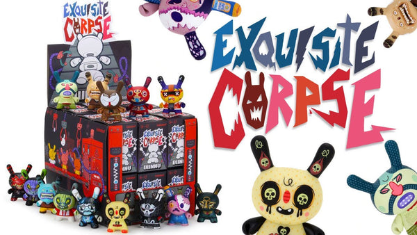Exquisite Corpse Dunny Mini-Figure Open Boxes