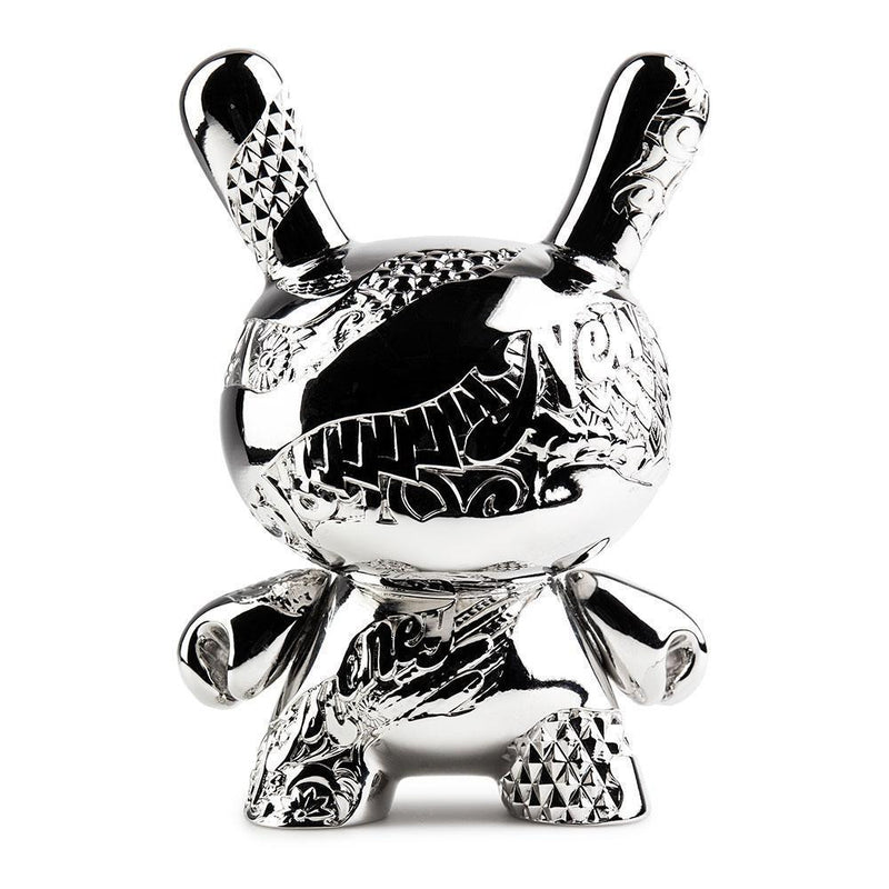 "New Money 5"" Metal Dunny by Tristan Eaton - RedGuardian Art & Toys"