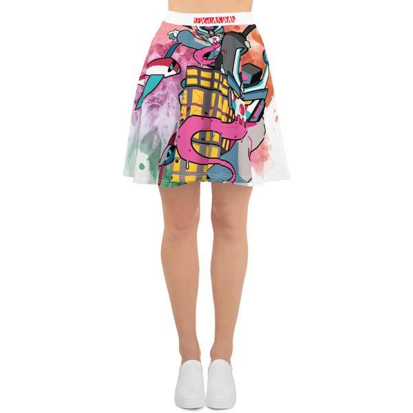 BOOM Clown Teq Skater Skirt