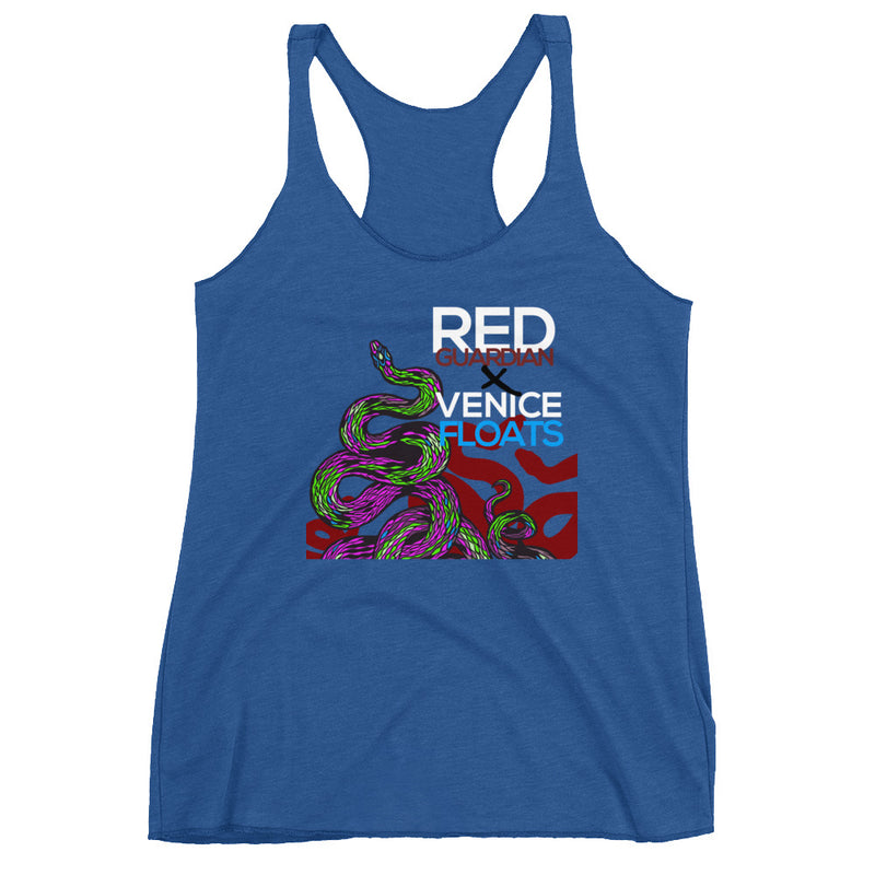 REDxVENICE : Salute to the Serpents || Women's Racerback Tank - RedGuardian Art & Toys