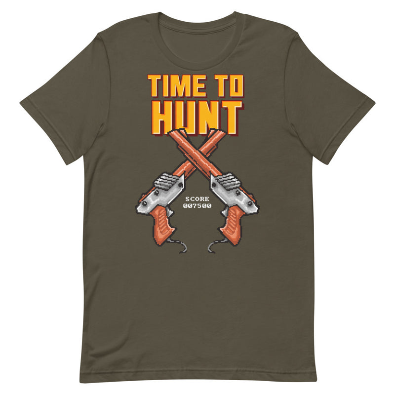 Time To Hunt Short-Sleeve Unisex T-Shirt