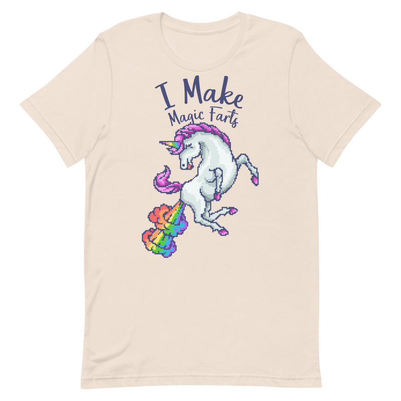 I Make Magic Farts Short-Sleeve Unisex T-Shirt