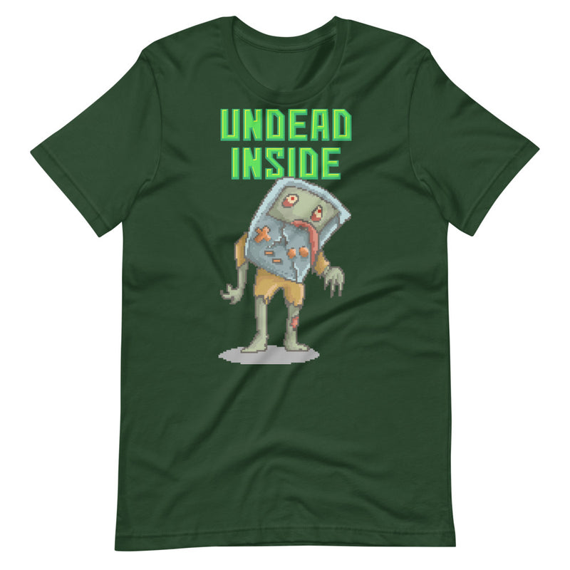 Undead Inside Short-Sleeve Unisex T-Shirt