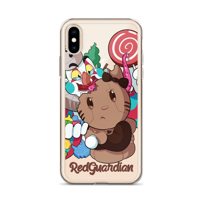 Wonderball Snacking iPhone Case - RedGuardian Art & Toys