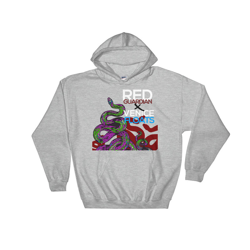 REDxVENICE : Salute to the Serpents || Hooded Sweatshirt - RedGuardian Art & Toys