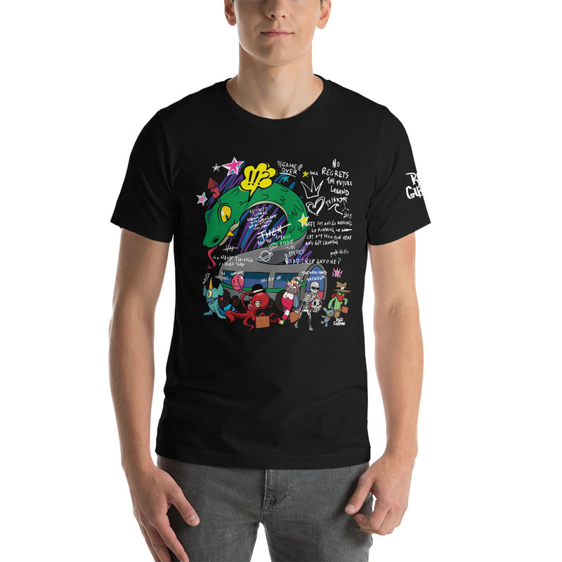 """Road Trip"" Short-Sleeve Unisex LE T-Shirt"