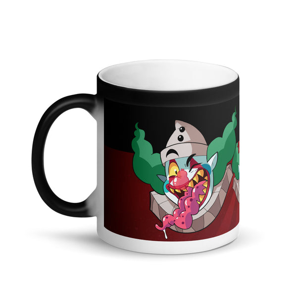 Matte Black Magic Color Changing Mug - RedGuardian Art & Toys