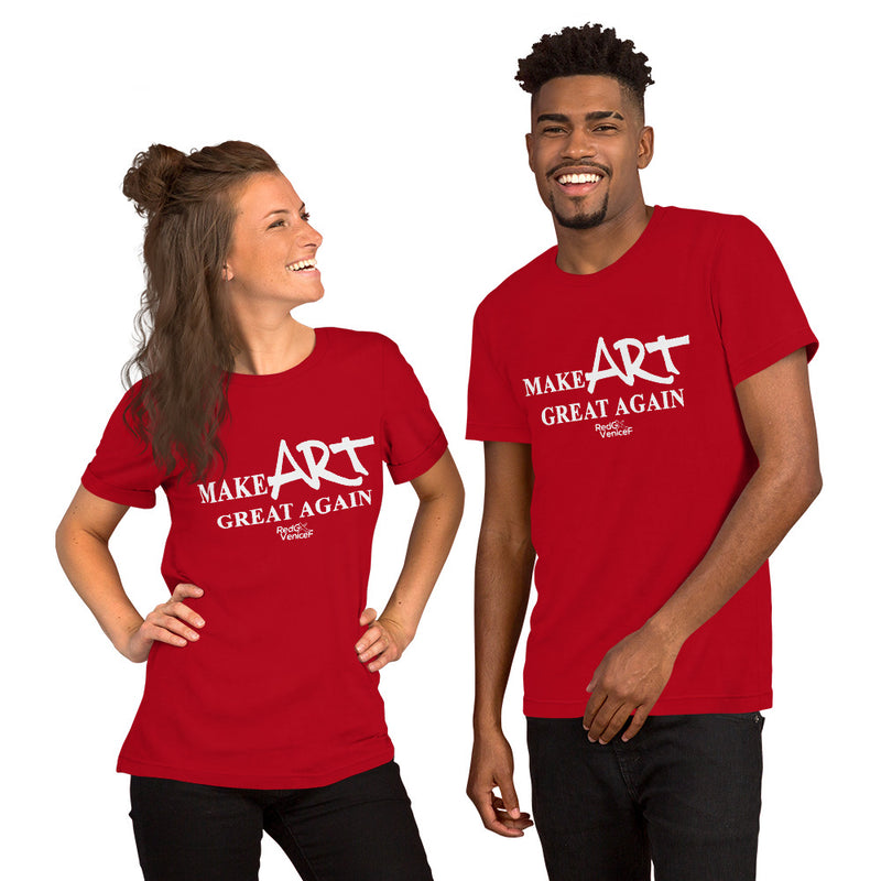 REDxVENICE : Make ART great again! Short-Sleeve Unisex T-Shirt