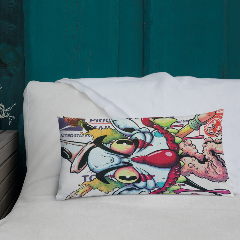 USPS Slap Premium Pillow - RedGuardian Art & Toys