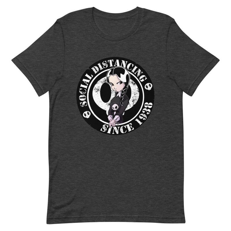 Social Distancing : Addams Family Wednesday Short-Sleeve Unisex T-Shirt