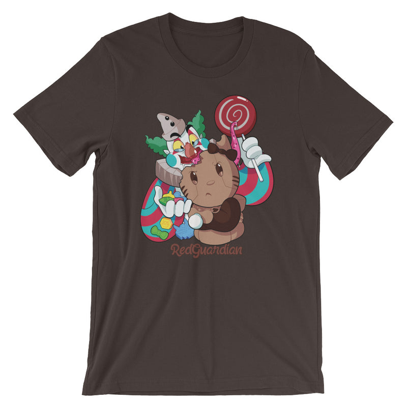 Wonderball Snacking Short-Sleeve Unisex T-Shirt - RedGuardian Art & Toys