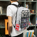 ART IS NOT A CRIME! Commuter Backpack