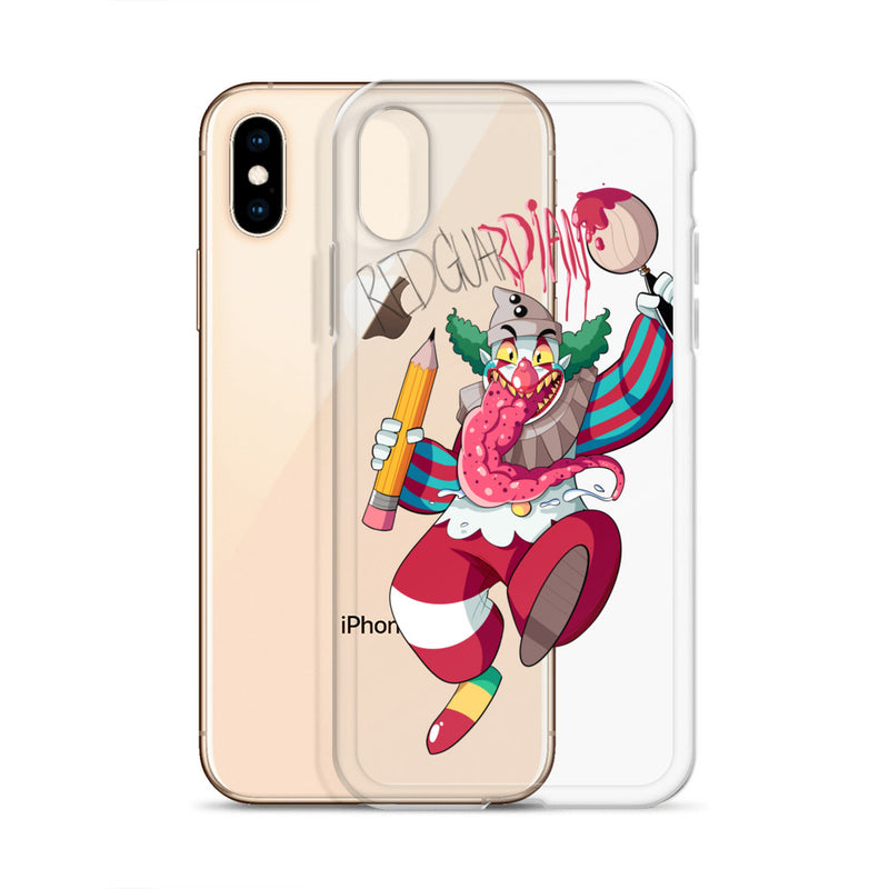 Dancing Clown iPhone Case - RedGuardian Art & Toys