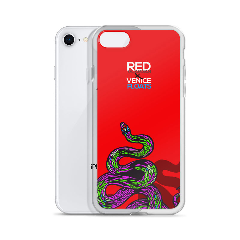 REDxVENICE : Salute to the Serpents || iPhone Case