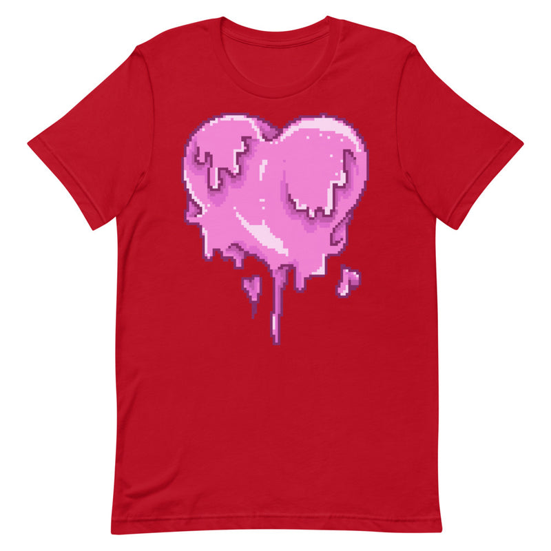 Melting Heart Short-Sleeve Unisex T-Shirt