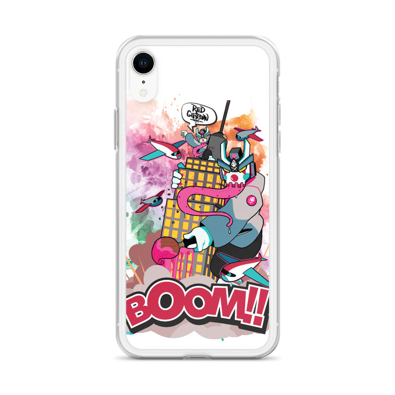 BOOM Clown Teq iPhone Case